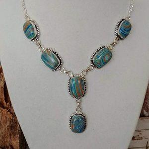 Jewelry - Artisan Calsilica Necklace